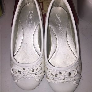 "Sperry Top Sider Shoes""Bethany"" Flats Size-10"